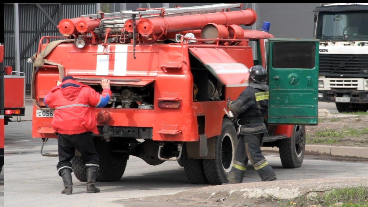 Оперативное прибытие пожарной команды